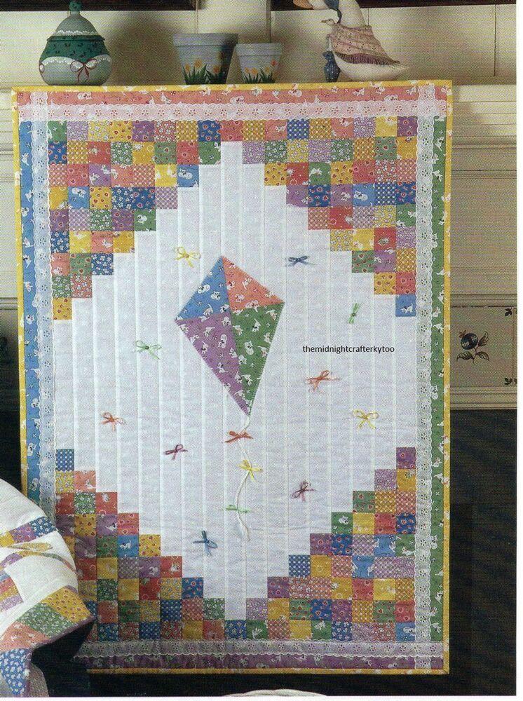 Cottage Lane Quilt Pattern Pieced NM