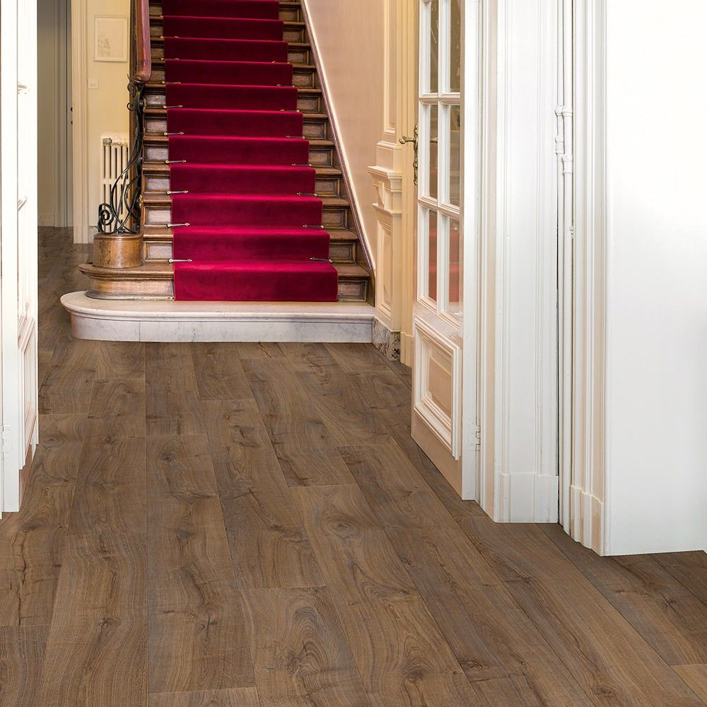 quick-step largo lpu1664 cambridge oak dark laminate flooring