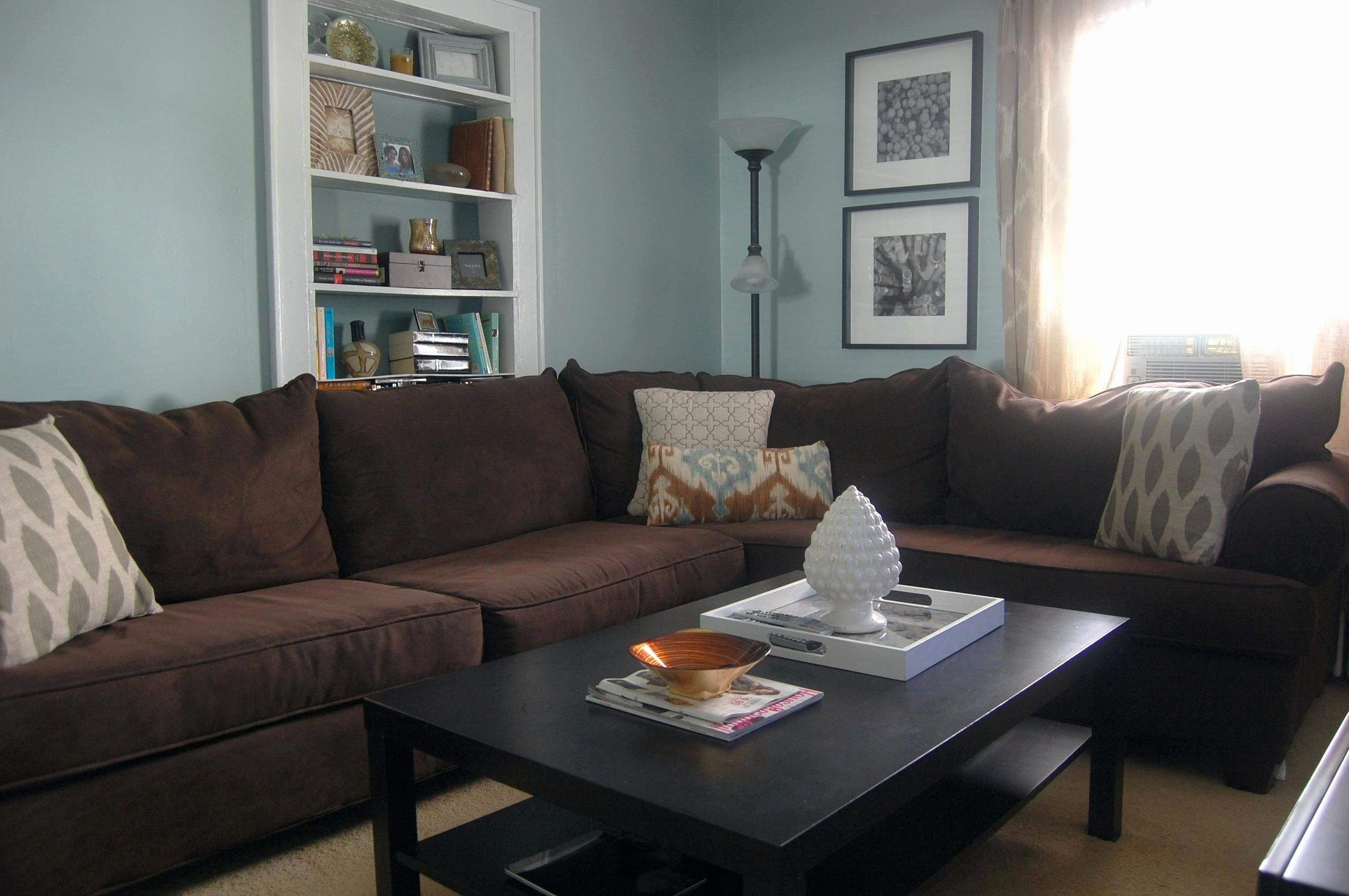 Awesome Chocolate Sofa Living Room Ideas Picture Chocolate