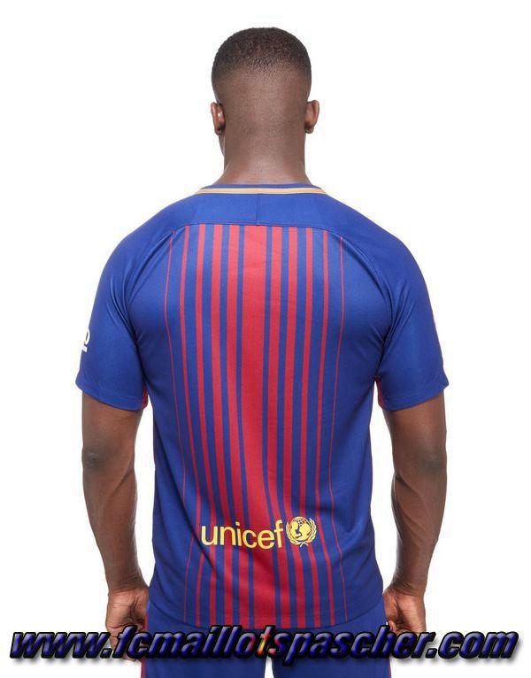 Acheter maillot de foot pas cher FC Barcelone Domicile 2017/2018  Personnalisable