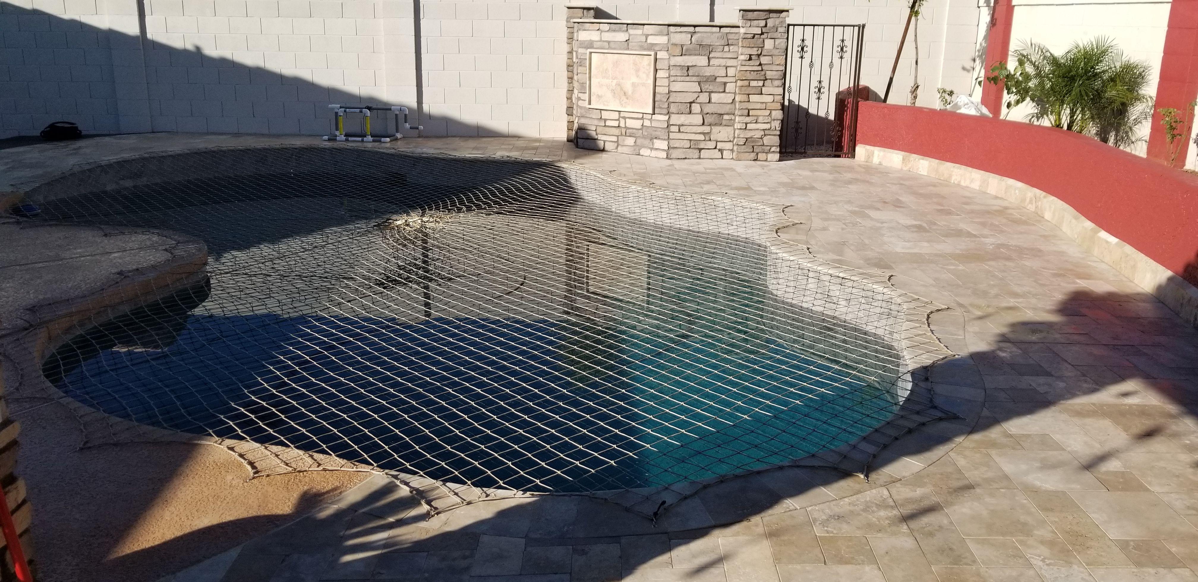 Pool Net Desert Sand Color Option Pool Nets Pool Pool Safety Net