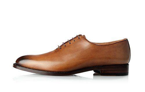 Englische Schuhe in Braun No. 587 Oxford Herrenschuhe
