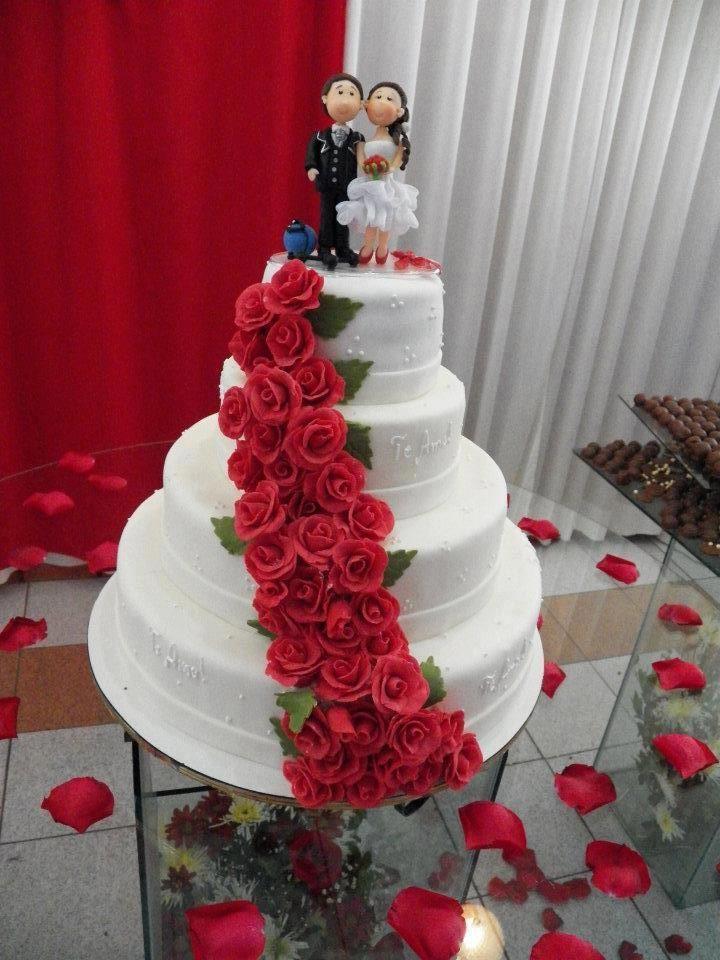 Fotos de bolo de casamento 74