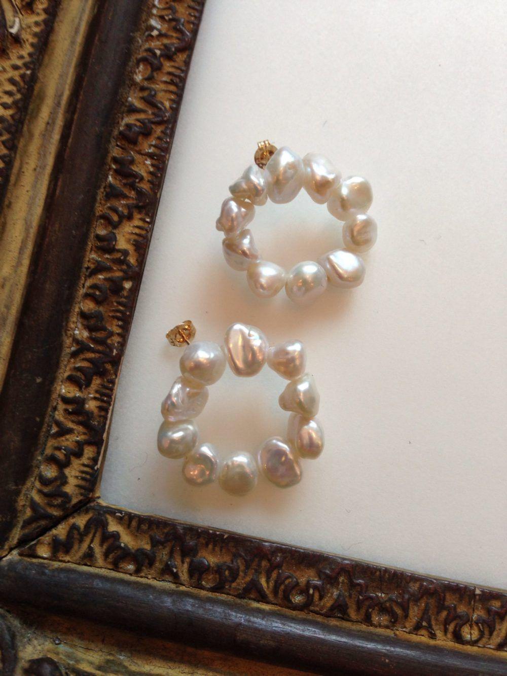 Elsa Billgren #pearljewelry