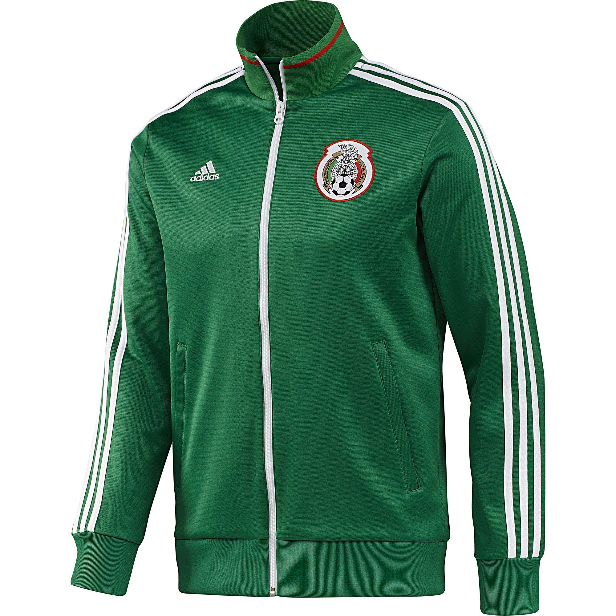 Chamarra Selección Mexicana de Fútbol. BadgeAdidas MenJacketWorld ...