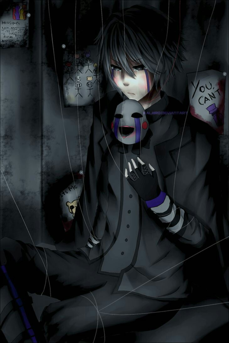 Anime Characters Child Reader : Puppet master fnaf anime five nights at freddy s
