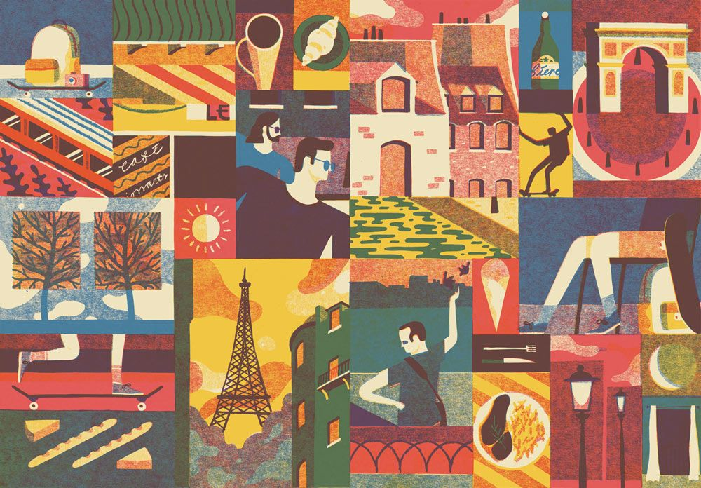 Freres A Paris David Doran Illustration Illustration