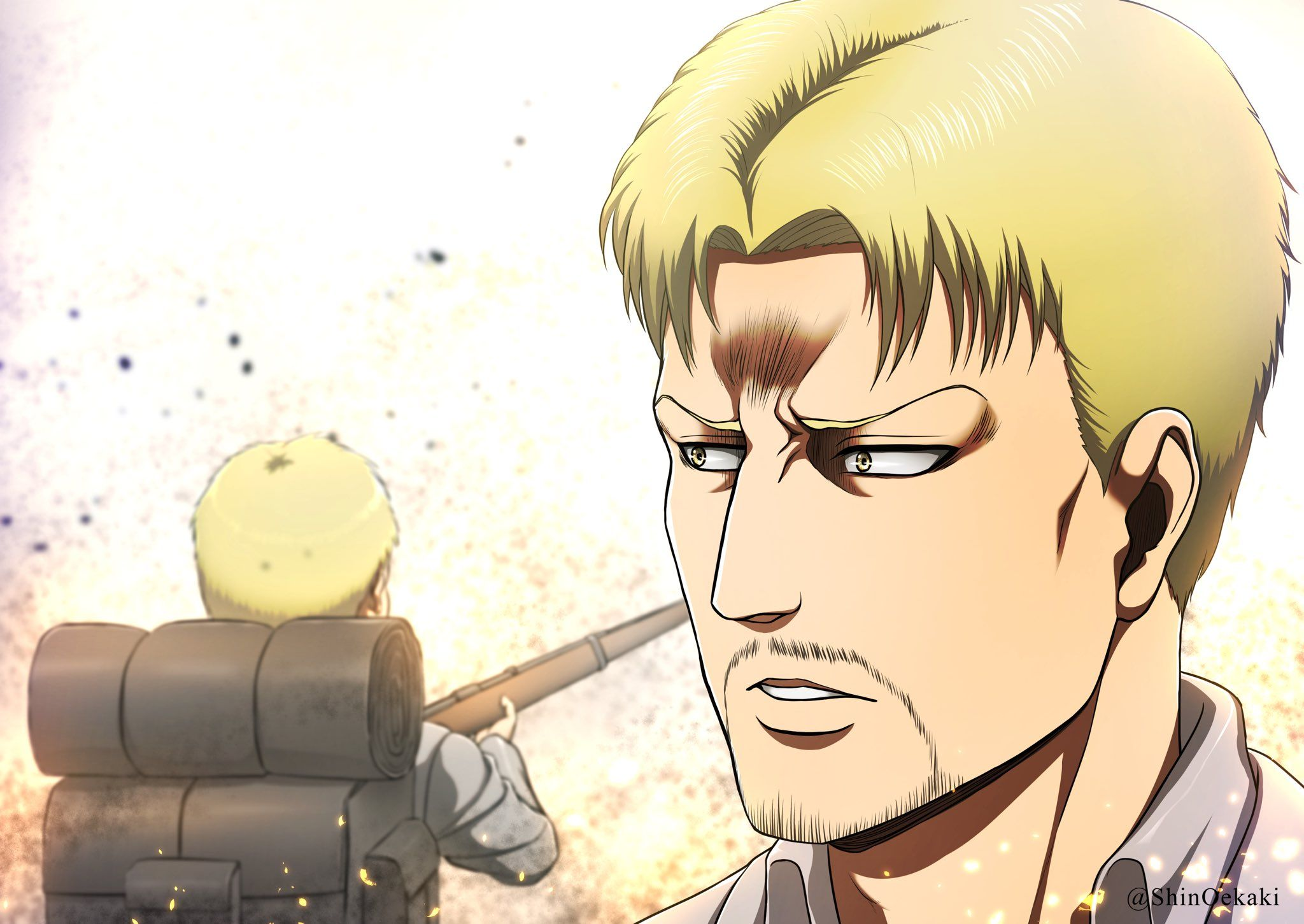 Shinちゃま On Twitter In 2020 Attack On Titan Art Attack On Titan Meme Attack On Titan Anime