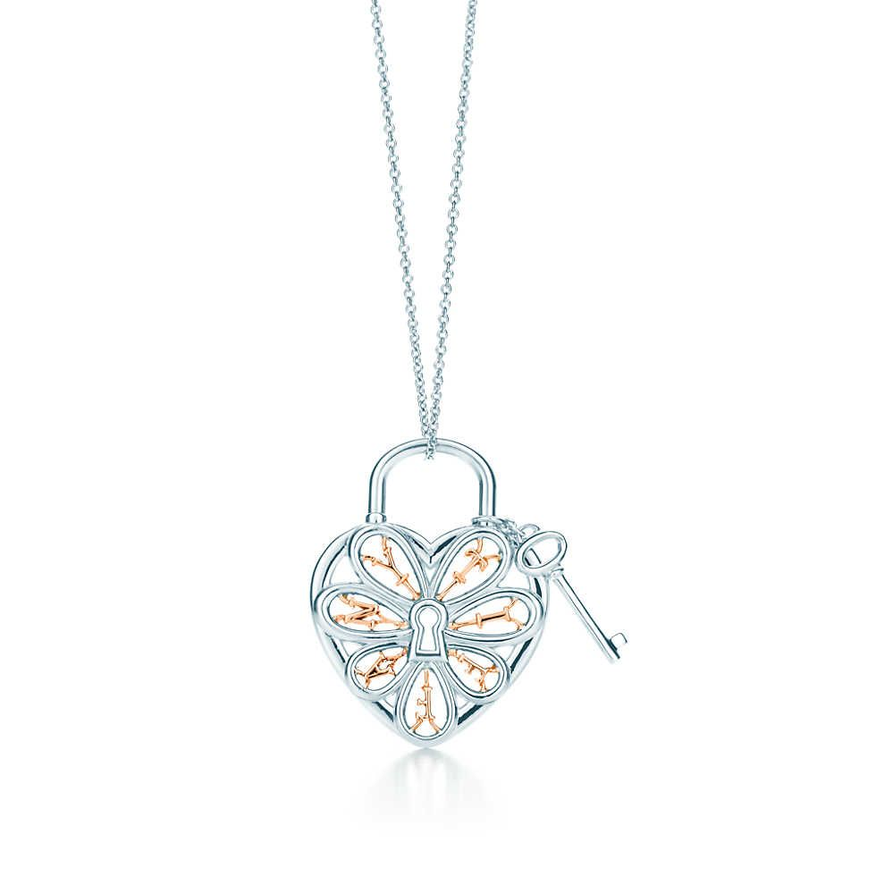 Tiffany filigree heartbrpendant with key breakfast at tiffanys tiffany filigree heartbrpendant with key aloadofball Image collections