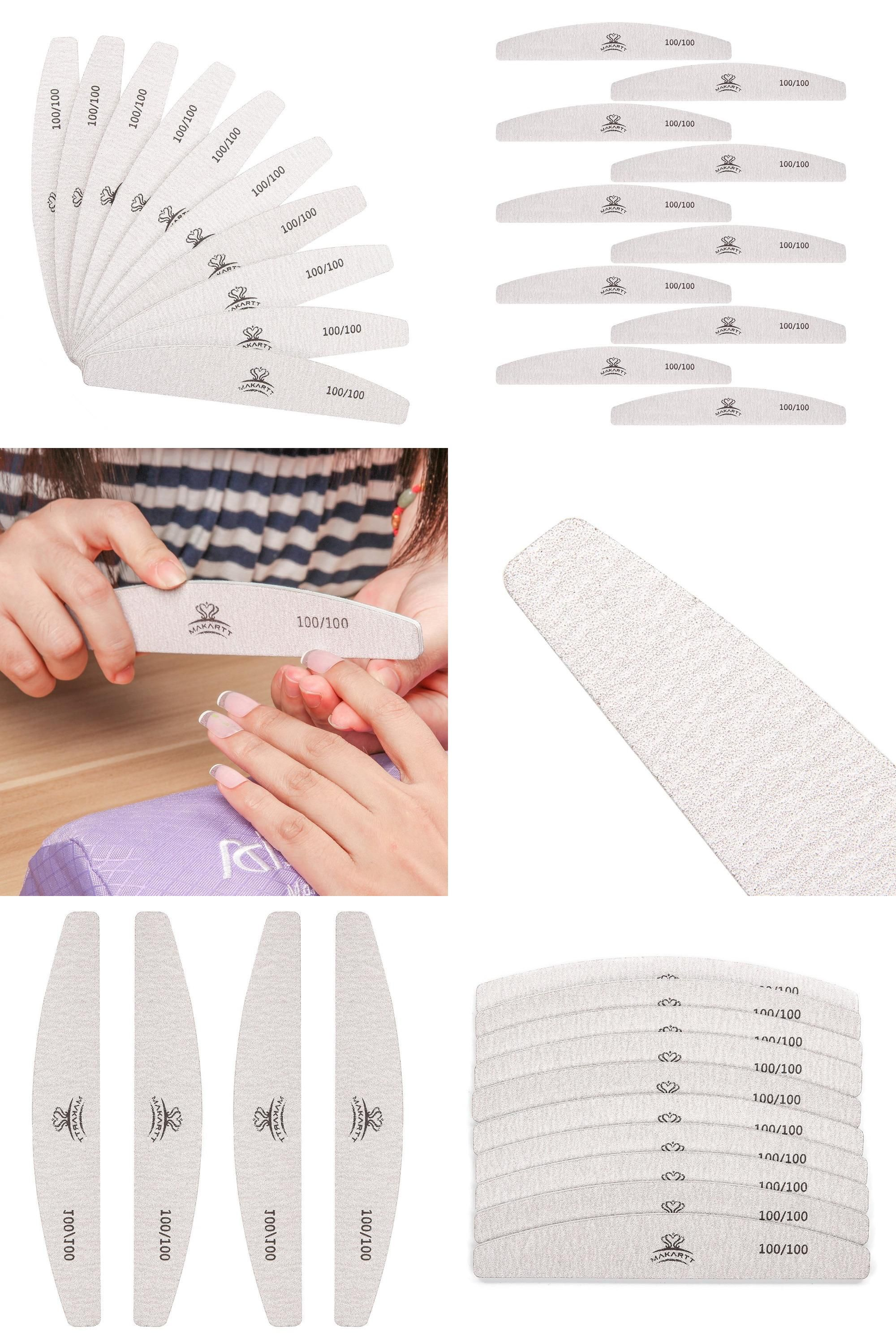 Visit to Buy] 10pcs/ pack Zebra Nail Files Washable Double-Side ...