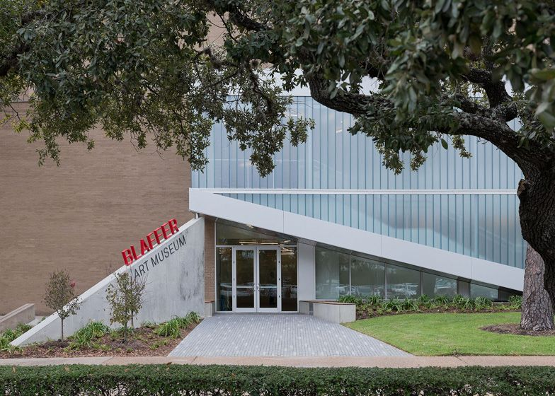 Blaffer art museum renovation by workac art museum art