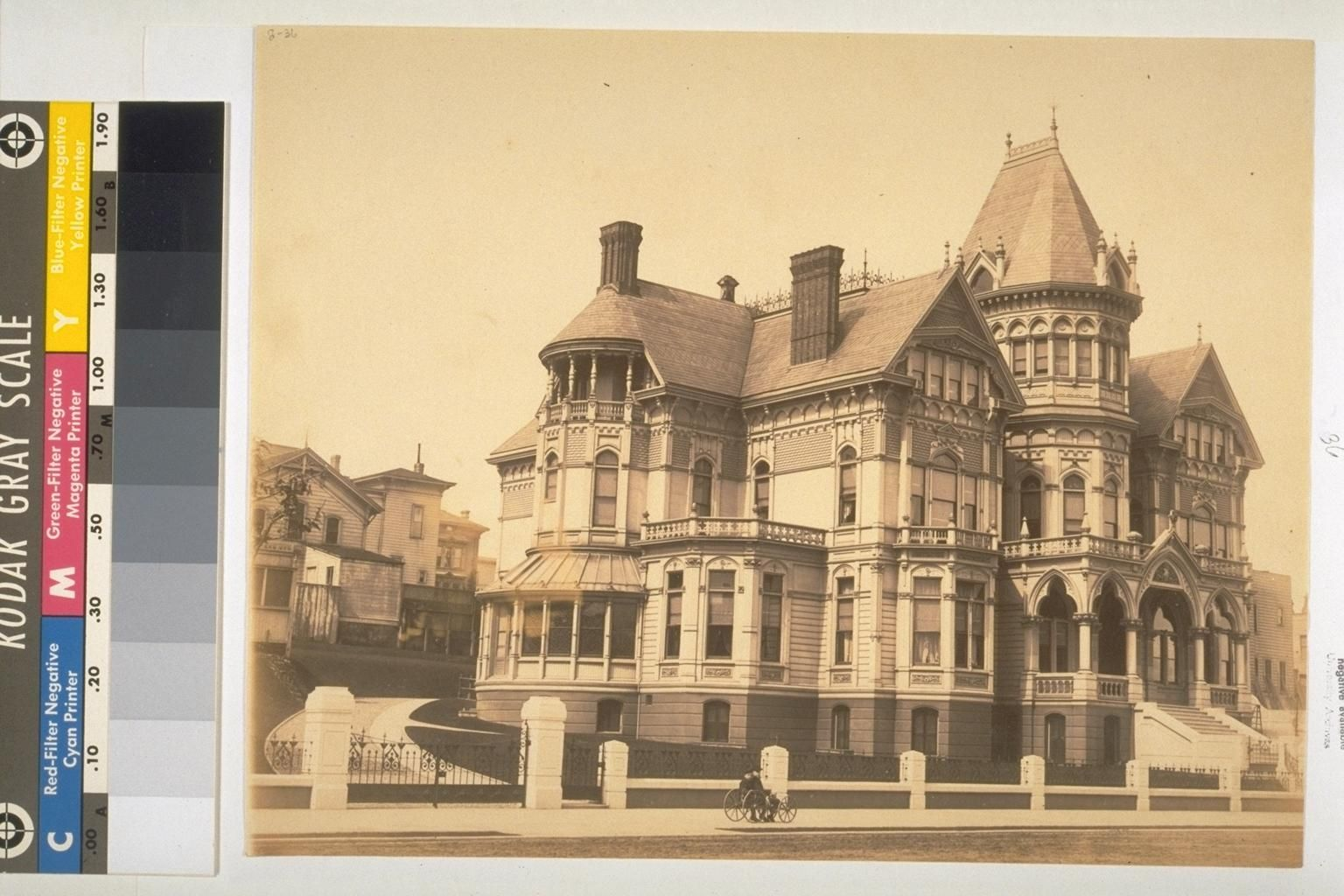 Porter Ash Mansion (probably in San Francisco) The Bancroft Library ...
