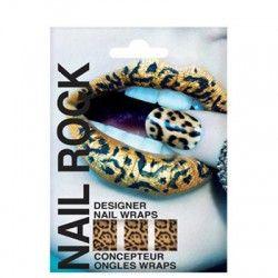 Rock Cosmetics Nail Rock Furry Cheetah www.beautyldn.com