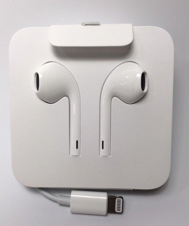 Apple Lightning Earpods Headphones Original Earbud Iphone 7 8 X Xr Xs 11 12 New Earbuds Iphone Headphones Headphones