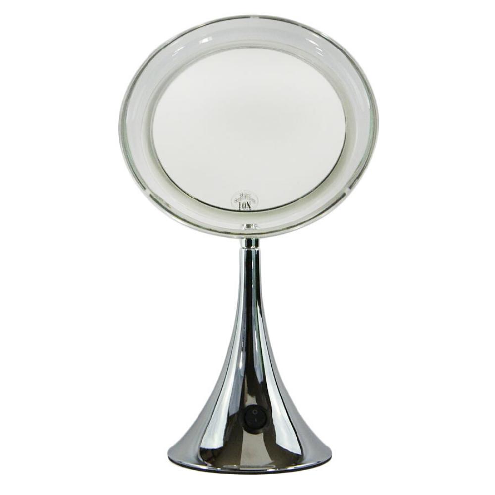 Beleuchtetes Kosmetikspiegel-Schminkspiegel-Metalltrompetendesign (M874)