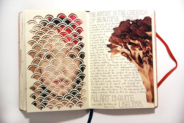 Sketchbook By Mari Iwahara Via Behance Photography Sketchbook Sketchbook Layout Sketch Book