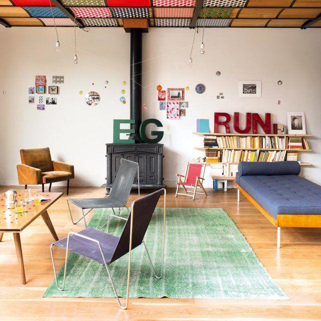 salon design scandinave nos id es d co pinterest. Black Bedroom Furniture Sets. Home Design Ideas
