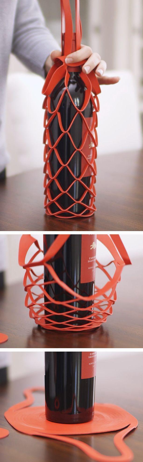 Gift Wrap Wonderland Homemade Gift Ideas Bottles Cruets Wine Design Wine Packaging Bottle Packaging