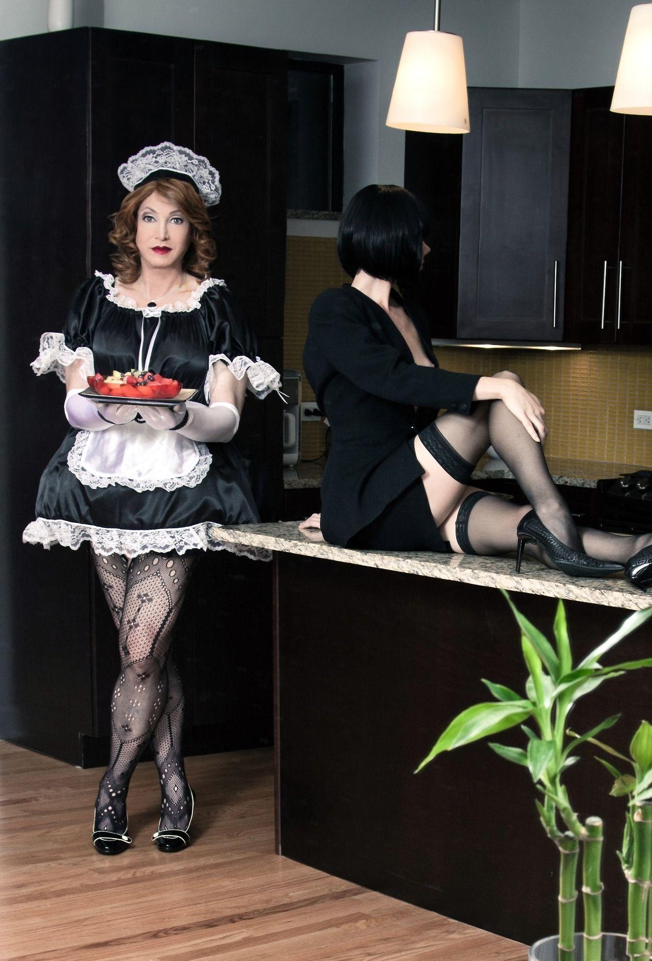 мадам в офисе и ее домработница видео
