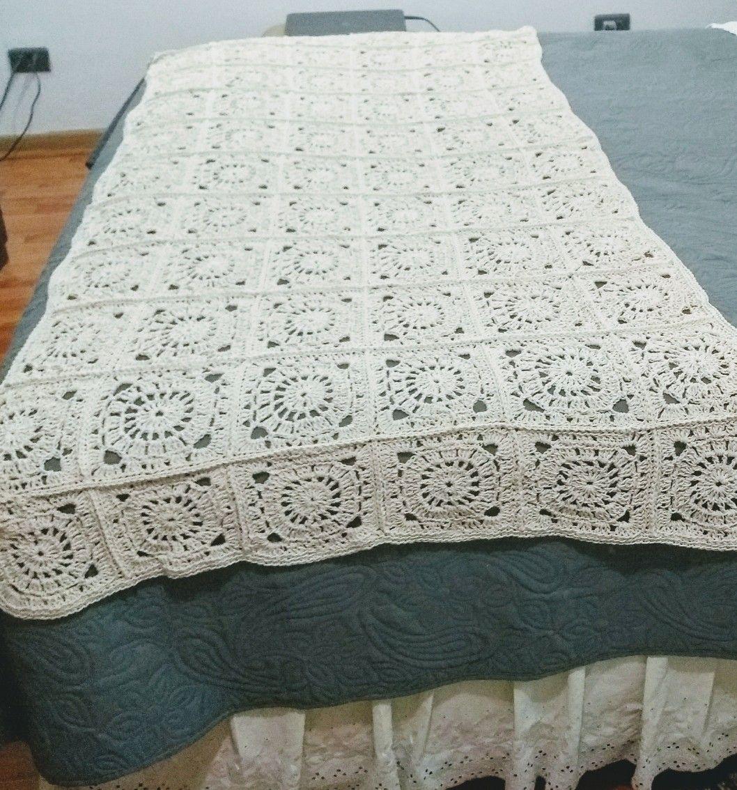 Piecera a crochet   Crochet   Pinterest   Ganchillo, Croché y Mantas ...