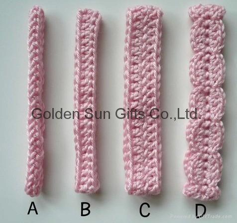 Cómo Crochet las vendas del bebé siguientes tutoriales | eHow.com ...