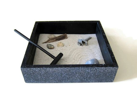 stone zen garden decor square office decor - home accents stress