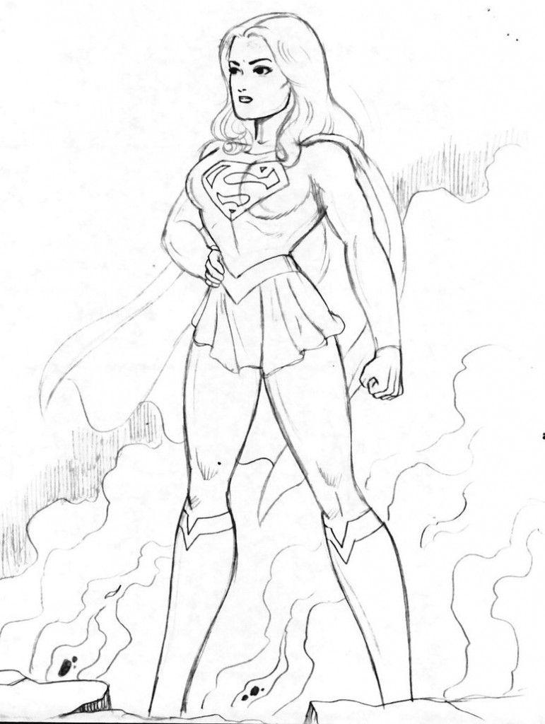 sexy super women drawings