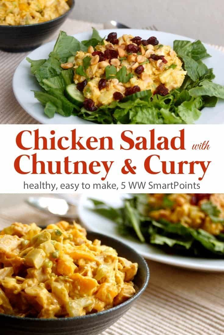 Chicken Salad With Chutney Curry