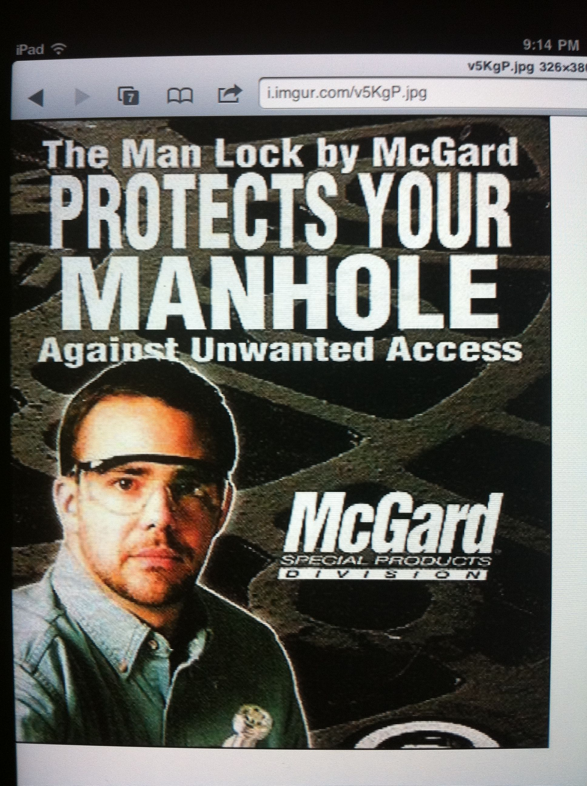 McGard Manhole Protection