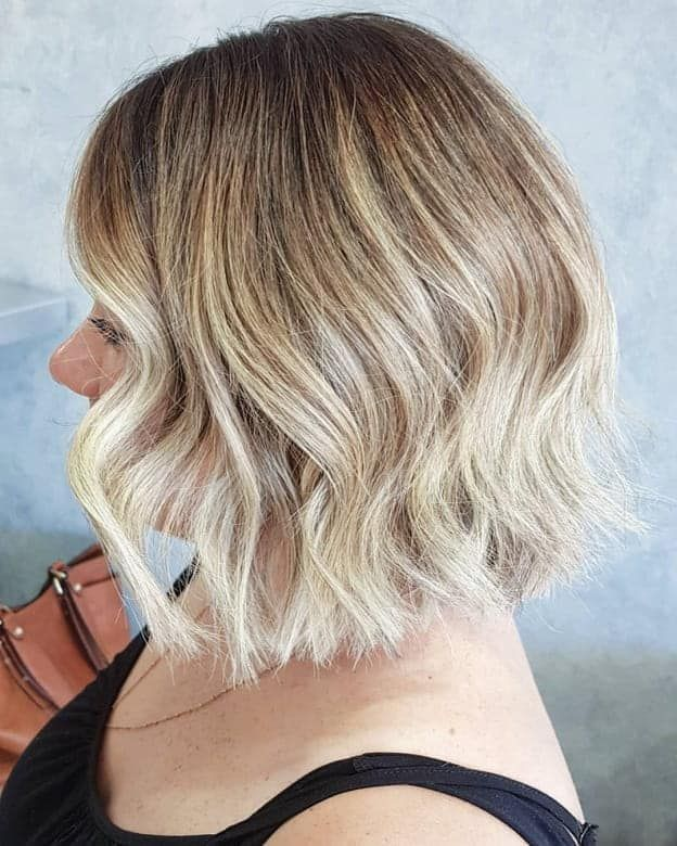 5 bob hairstyles with blonde ombre for a chic look