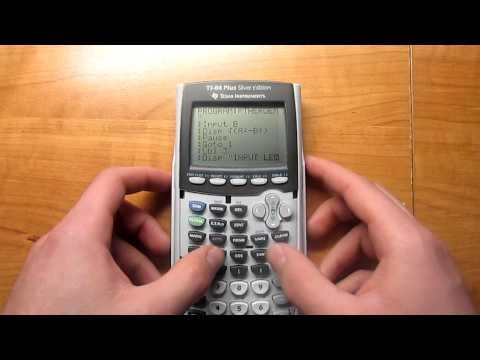 How To Make A Pythagorean Theorem Program To Find Hypotenuse And Missing Leg Pythagorean Theorem Theorems Graphing Calculators