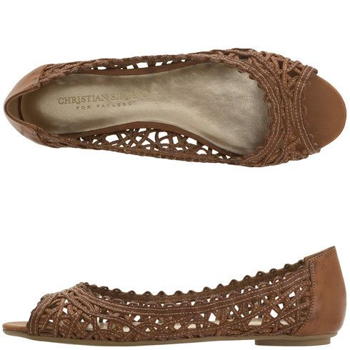 f3a5cb9ee48 Womens - Christian Siriano for Payless - Women s Cindy Woven Flat - Payless  Shoes