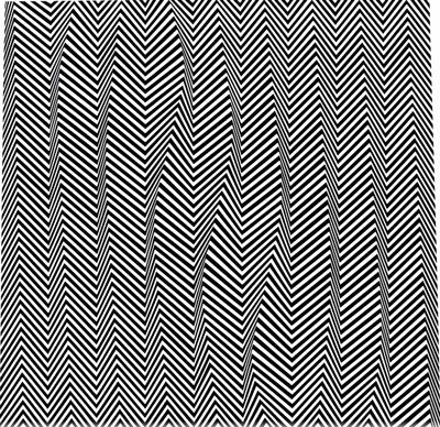 Descending, Artist: Bridget Riley  Completion Date: 1966  Style: Op Art  Genre: abstract painting