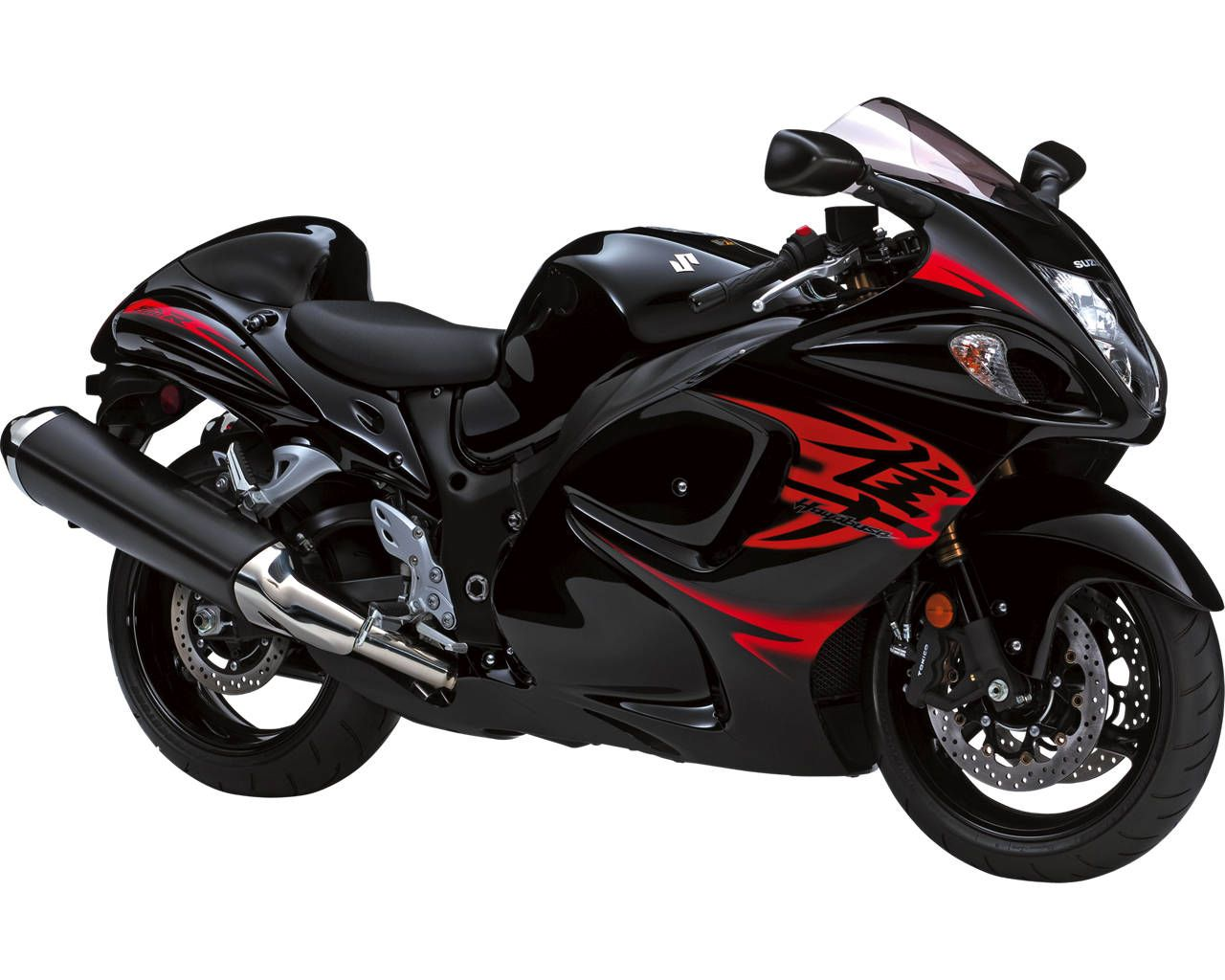 Superieur Motorcycles | The 2011 Suzuki Hayabusa, Seen Here In Pearl Nebular Black  With Red .