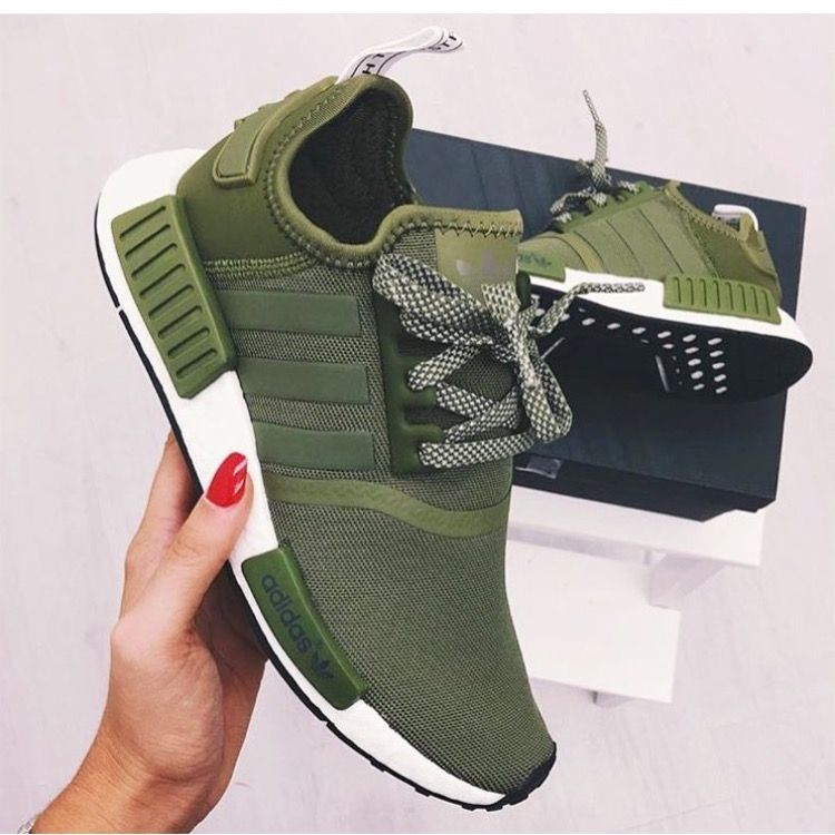 adidas nmd mujer verdes