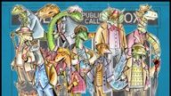 here's one more - all of the eleven Doctors, drawn as dinosaurs :)