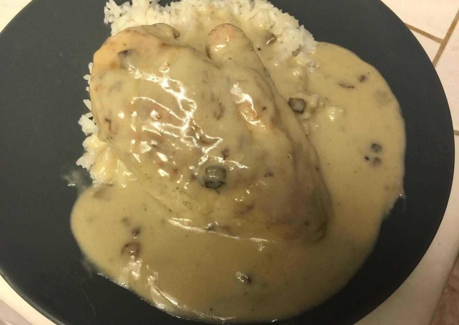 Cream of Mushroom Chicken and Rice | Recipe | Chicken ...