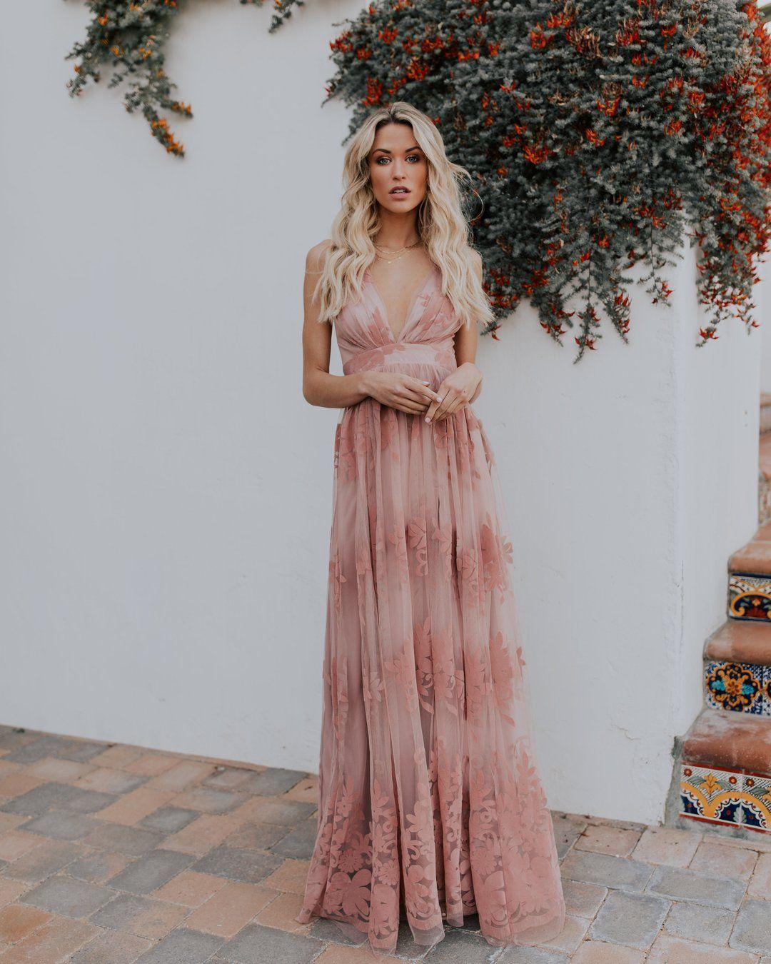 Antonia Maxi Dress Mauve In 2021 Maxi Dress Dresses Pink Maxi Dress [ 1350 x 1080 Pixel ]