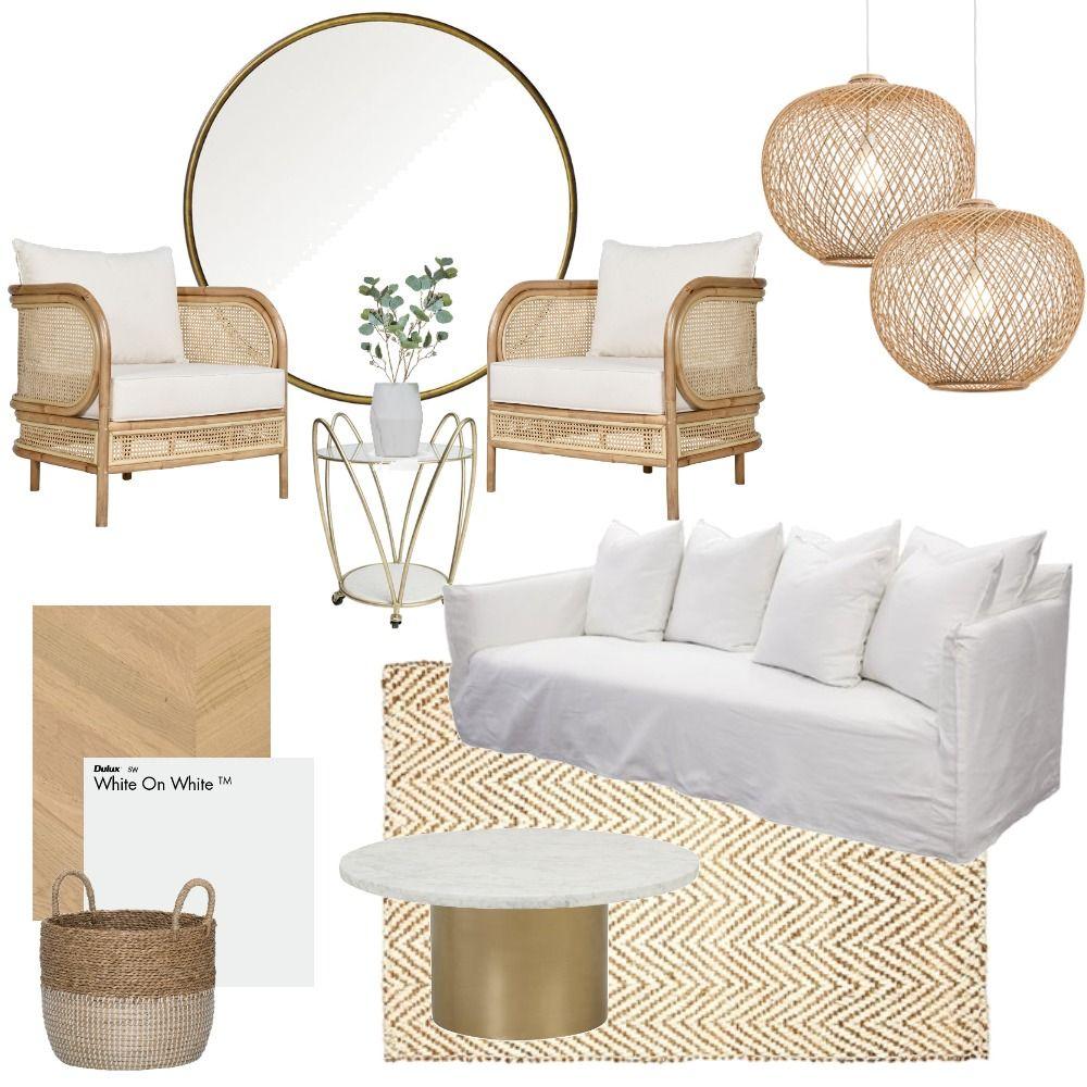 Classy Rattan Mood Board in 2020 Living room inspiration