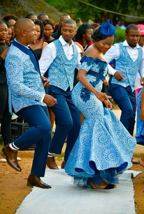 Blue Is Beautiful African Glam Pinterest Dresses
