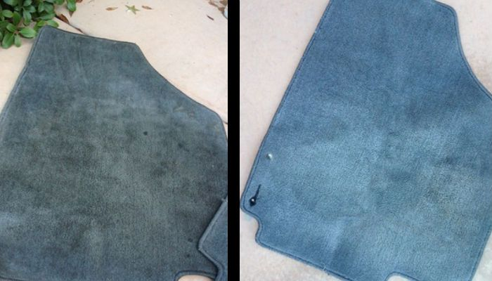How To Clean Car Floor Mats With A Diy