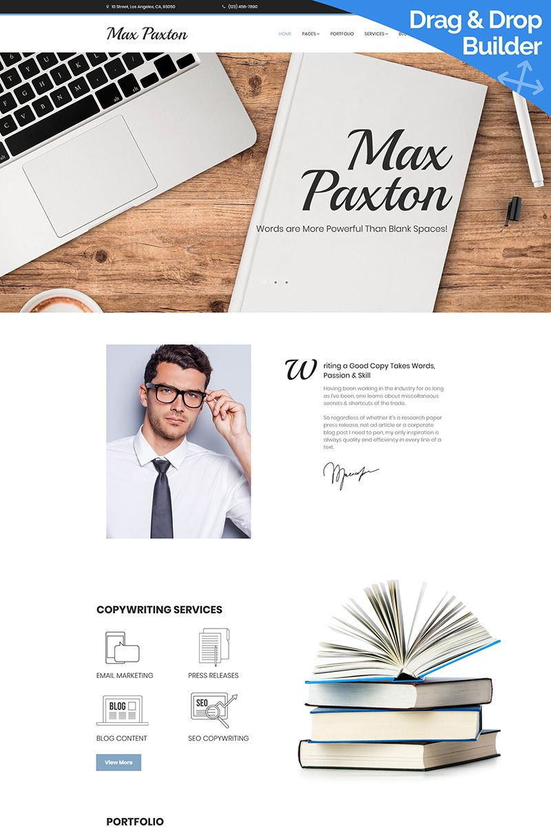 If You Re A Freelance Writer Do You Have A Website For Your Services If You Do Are You Attracting Clients With It Or I Writer Website Design Web Design Tips