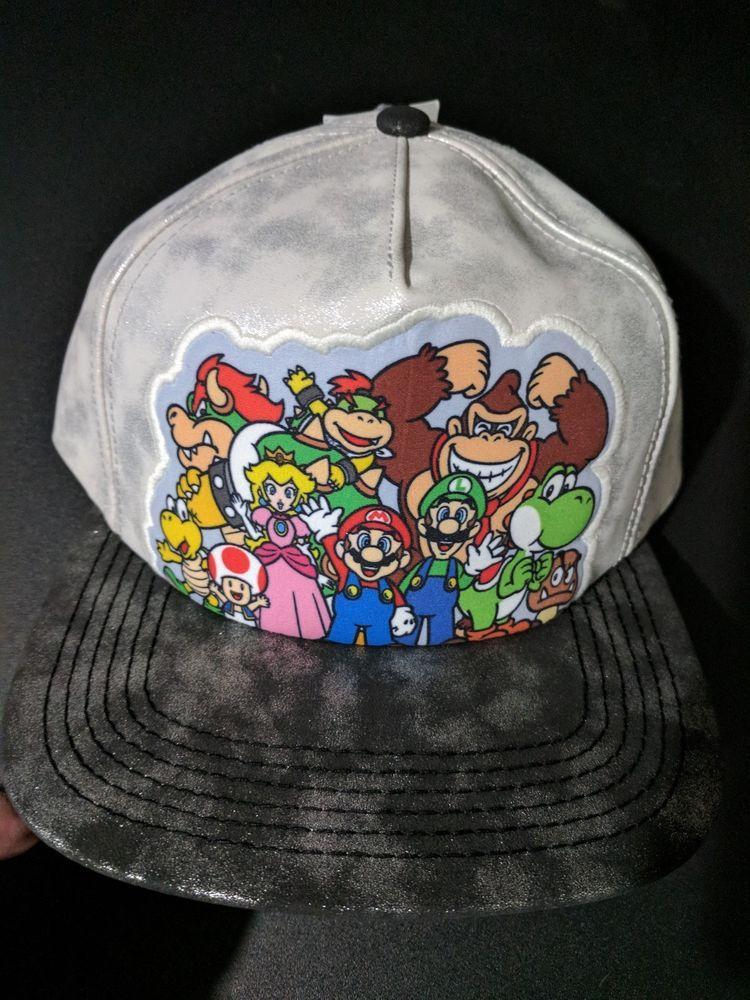 a5116af4c1 Super Mario Brothers Official Nintendo hat baseball cap  Nintendo   BaseballCap