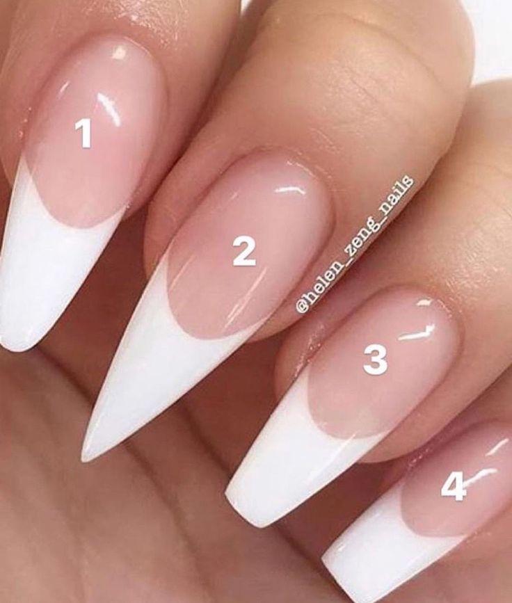 25 + › Acrylnagelarten #nailsshape