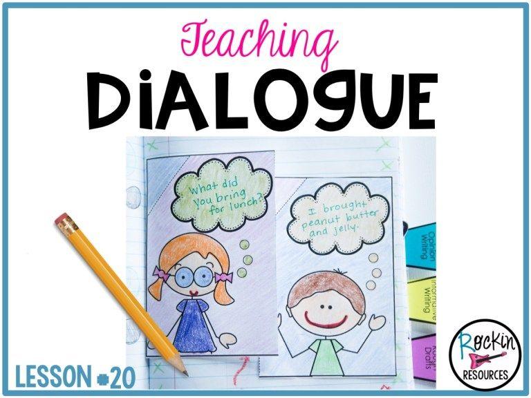 Writing Mini Lesson 20 Dialogue in a Narrative Essay