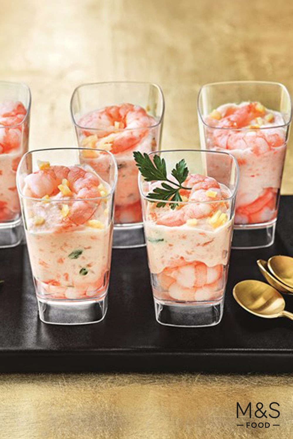 Balance a hearty main course with these fresh and fun shot
