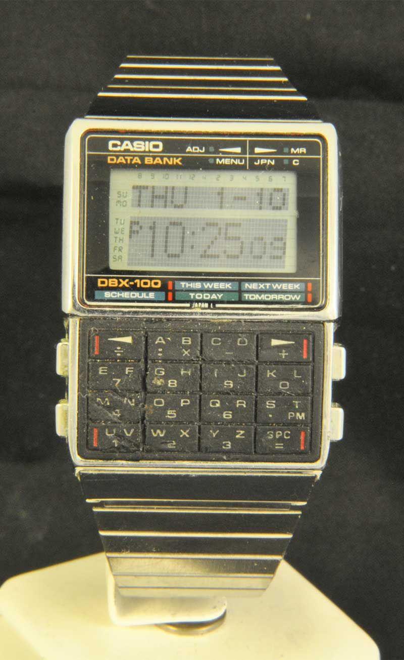 a6ee5a7319d CASIO DBX-100 MODULE 261 Relógio Casio