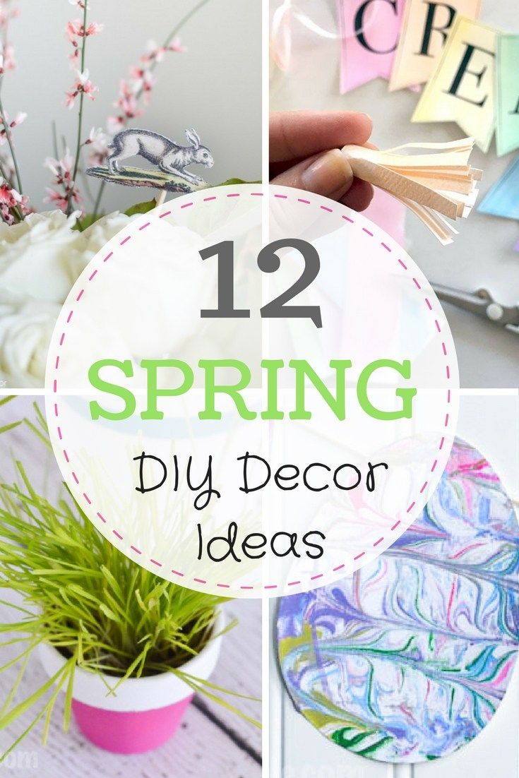 Spring Home Decor Ideas: Simple DIY & Craft Projects | Easter ...