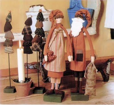 Photo of Hermosos muñecos navideños