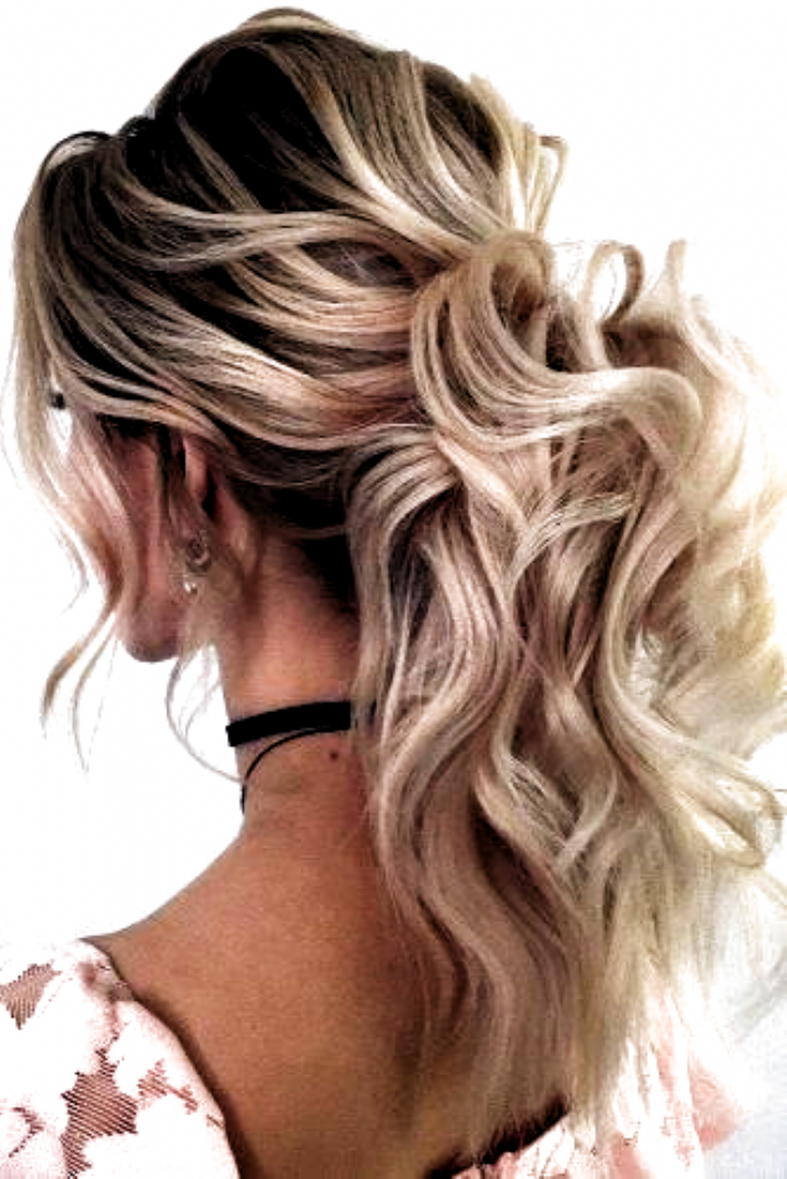 Looking For Wedding Hairstyles That Make Your Hair Fuller And Thicker Check Out Our B In 2020 Prom Ponytail Hairstyles Curly Hair Styles Naturally Curly Hair Ponytail